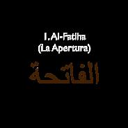 1. Al-Fatiha (Exordio)
