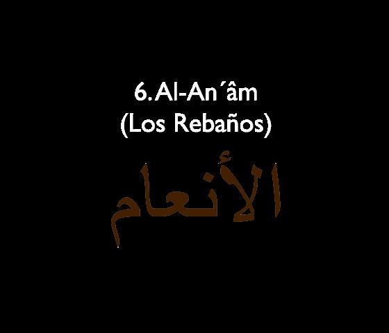 6. Al-An'âm (Los Rebaños)