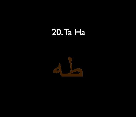 20. Ta Ha