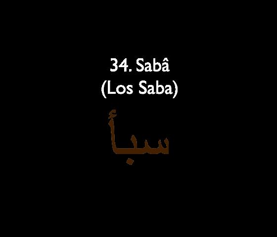 34. Sabâ (Los Saba)