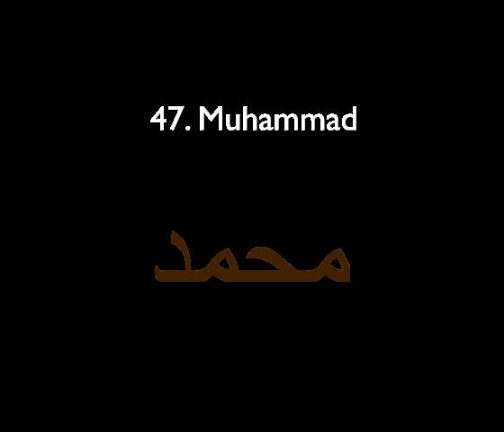 47. Muhammad