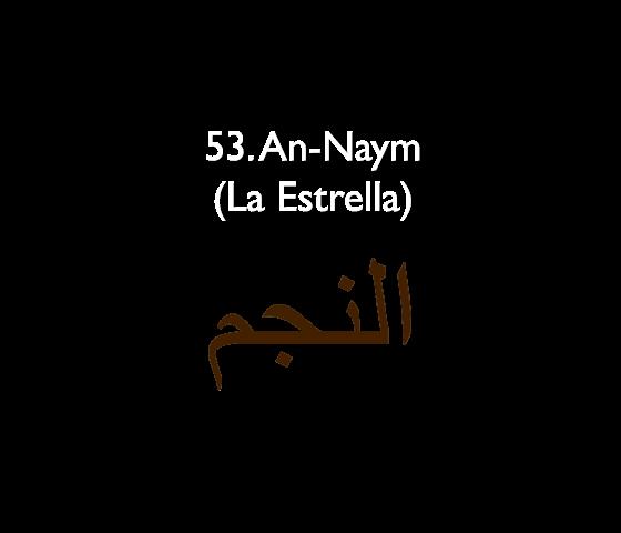 53. An-Naym (La Estrella)