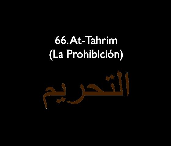 66. At-Tahrim (La Prohibición)