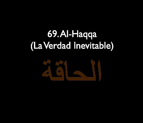 69. Al-Haqqa (La Verdad Inevitable)