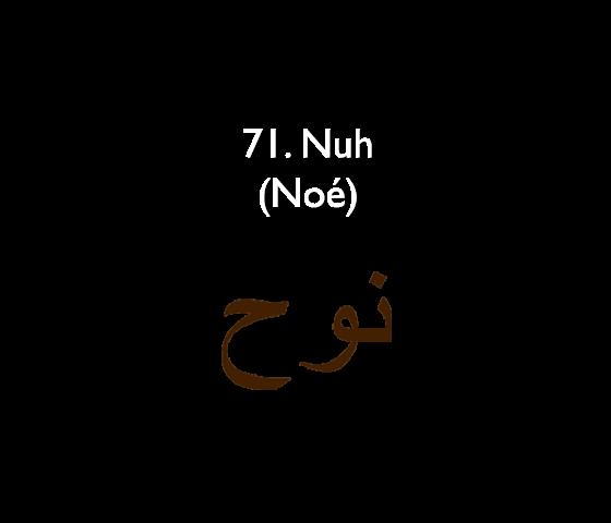 71. Nuh (Noé)